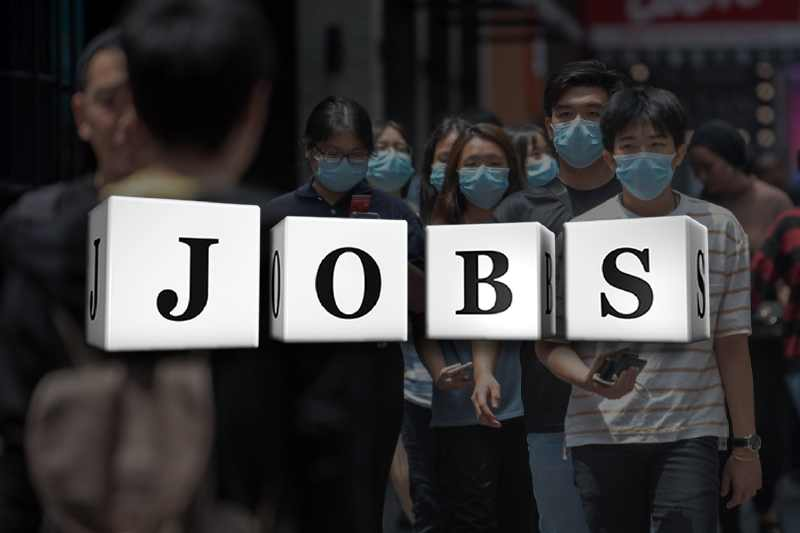 US jobs remained unfilled