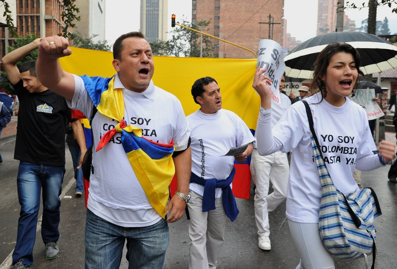 The UN worried about the number of killed human rights activists in Colombia