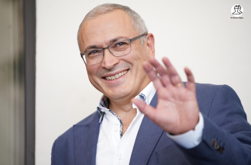 Mikhail Khodorkovsky at the photo call for 'Citizen K' during the 76st Venice Film Festival at the Sala Grande on August 31, 2019 in Venice, Italy.