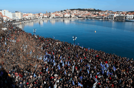 Protests in Greek islands and the sad reality of economic migrants