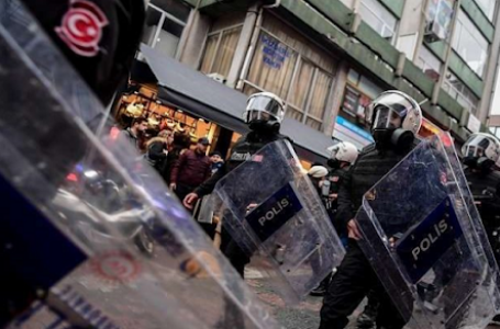 Turkey tops the list of countries in human rights violations.