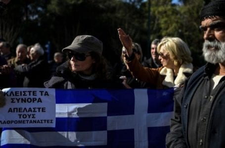 Greece tightens its policy towards immigrants
