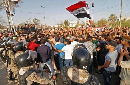 The United Nations urges Iraq to take concrete steps to prevent violations of human rights in the demonstrations.