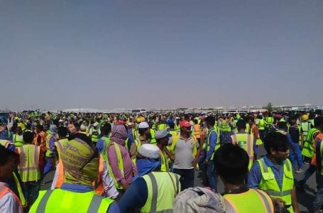 Qatari workers still not receiving their salaries in time