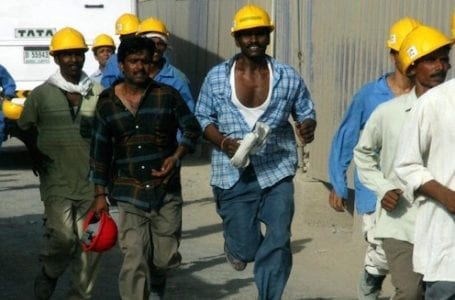 "Human Rights ""confirms Qatar's failure to address human rights violations."""