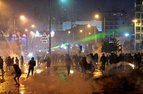 """The Human Rights Commission call to Lebanon for an immediate investigation into """"the violations"""" against the protesters."""