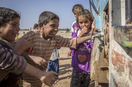Unprecedented levels of displacement and harsh conditions of civilians in the Syrian Arab Republic.