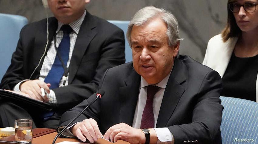 Secretary General of UN Guterres