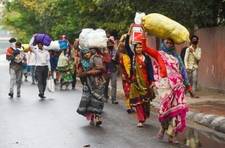 Coronavirus: How migrant workers in India walked miles to reach home amid lockdown