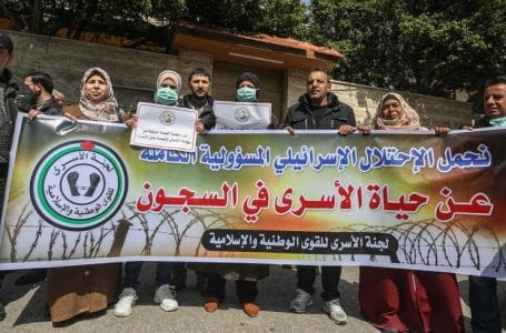 'Palestinian Prisoners Should Be Saved From The Pandemic'