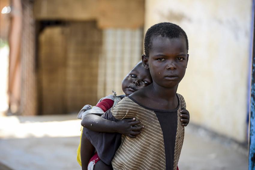 South Sudan street children