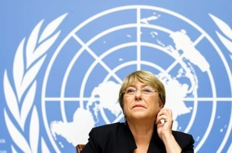 The United Nations warns many countries about repression practices