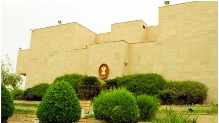 Indian Embassy located in Riyadh, Saudi Arabia