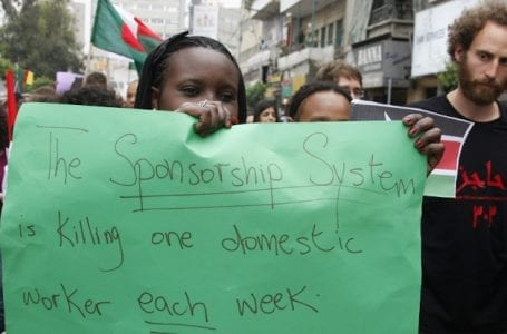 Restrictions in response to COVID-19 are likely to exacerbate conditions of migrant domestic workers in the Middle East