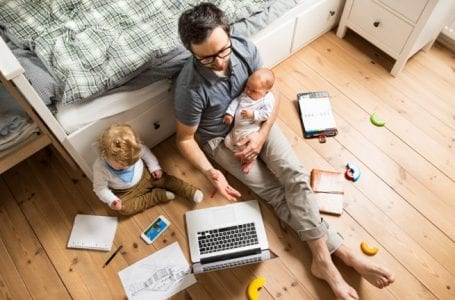 How Parents Can Keep Their Sanity While Working from Home