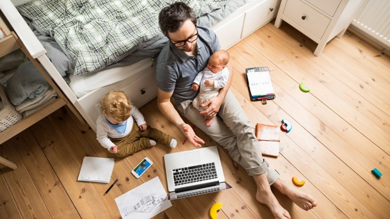 parents are working from home and children too at home, the normal life is set to go haywire