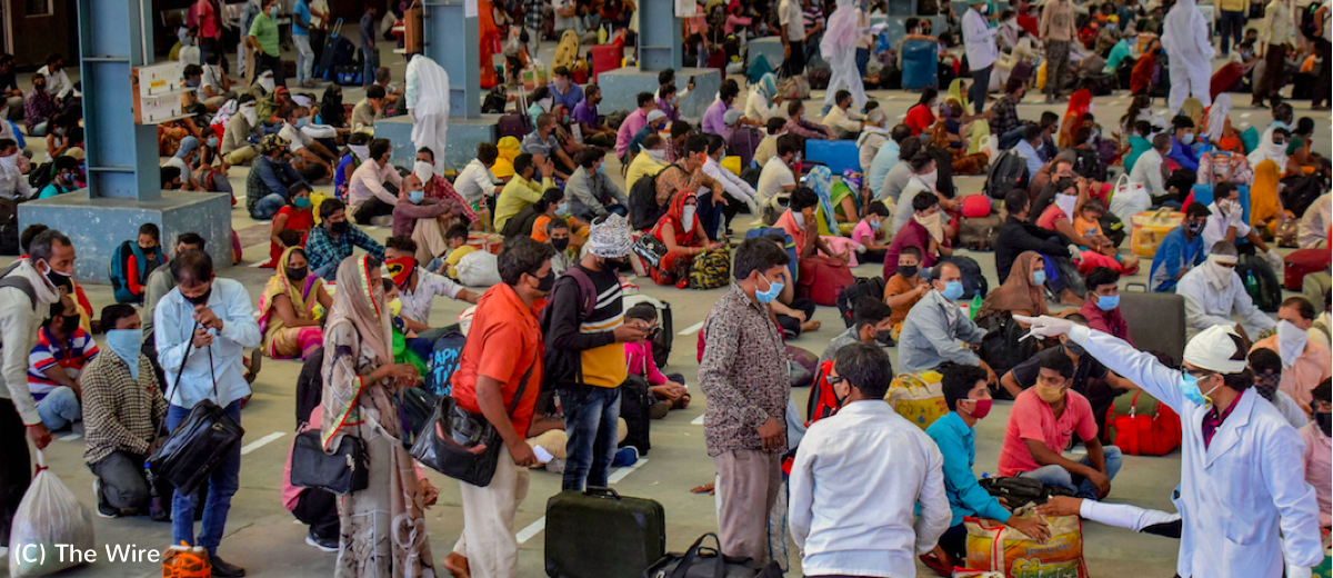 migrant workers stranded in India