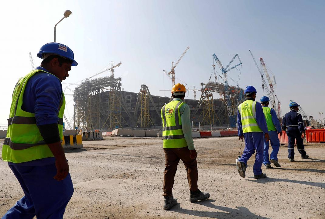 Nepal migrant workers were detained in Qatar Industrial Area