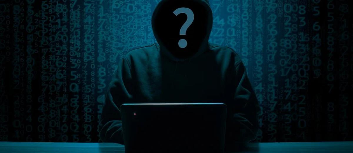 Hacker silhouette hack anonymous