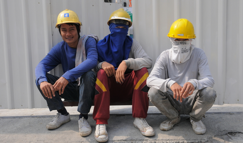 Singapore govt has decided to build updated dormitories for the migrant workers