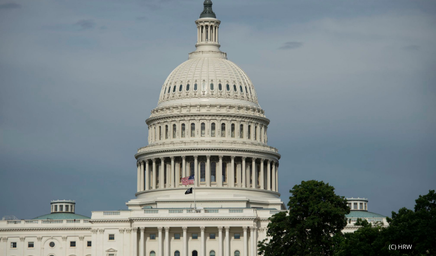 A view of the U.S. Capitol Building in Washington