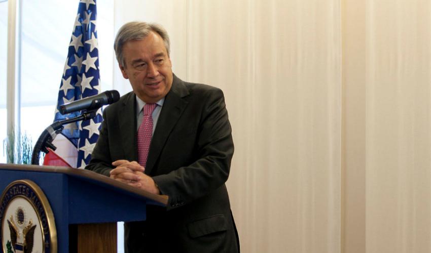 United Nation chief Antonio Guterres