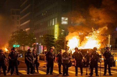 The US Police use of force policy fall short of human rights standards, report finds