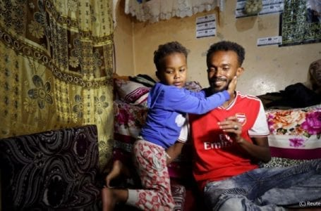 Migrants and refugees from Africa stuck in Yemen's war