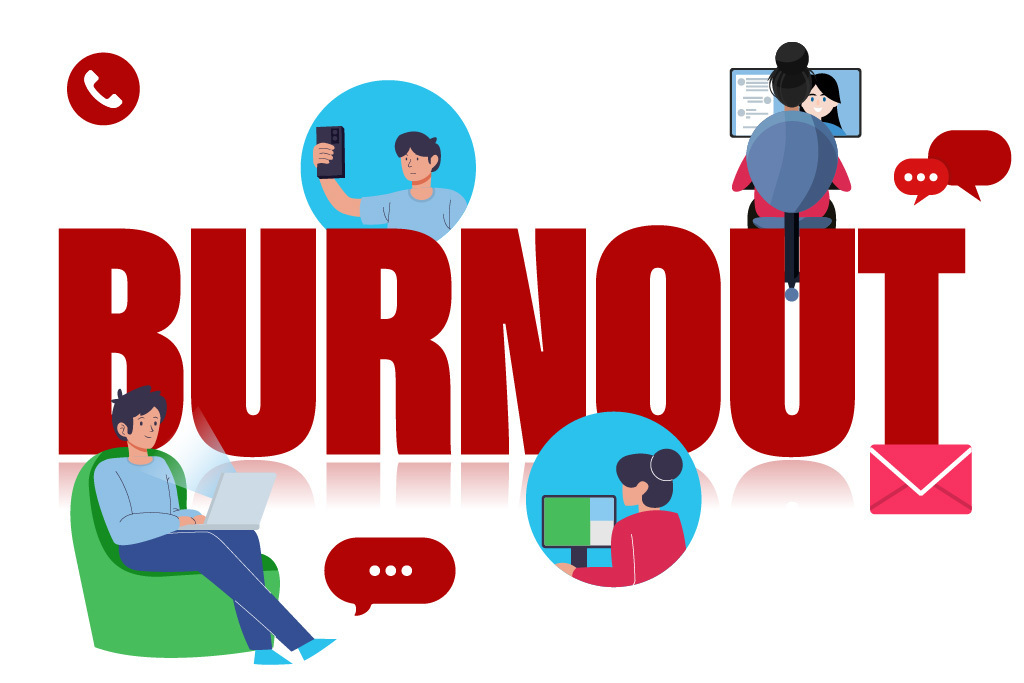 Professionals faced burnouts while Working from home