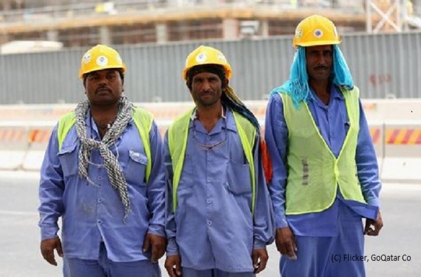 Qatar migrant workers Slavery
