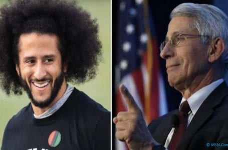 Fauci and Kaepernick will be honored with Robert F. Kennedy Human Rights Award