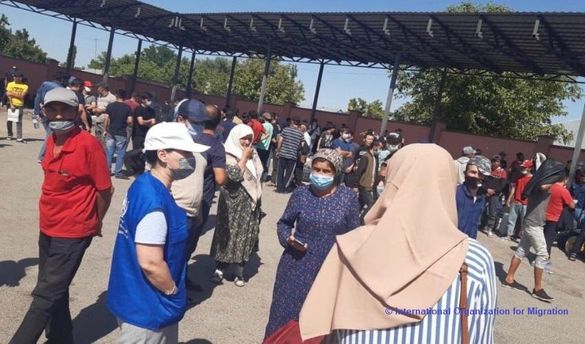 Stranded Uzbek Migrants in Kazakhstan