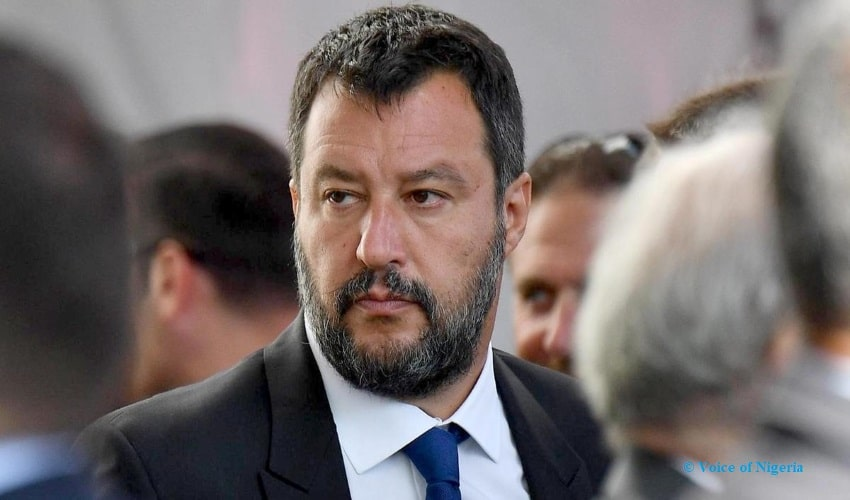Salvini Checked For His Inhuman Stance