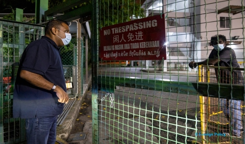 Restrictions on migrant workers'