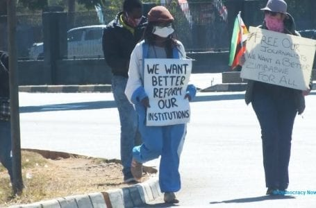 #ZimbabweanLivesMatter: People stage solo social media protests against human rights abuses in Zimbabwe