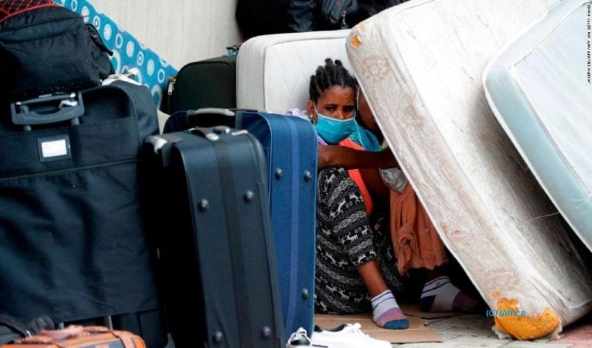 African migrants, Lebanon, Covid-19