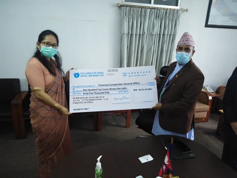 Indian Embassy in Nepal, Nepal, earthquake assistance fund, UN, Himalayas