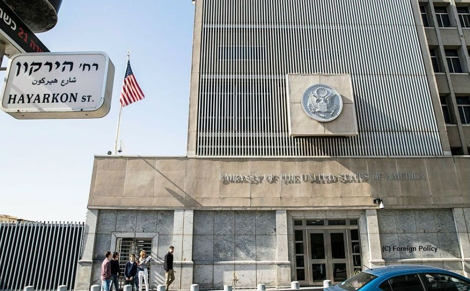 US Embassy in Israel, American citizens, ballots, United States, US Election 2020, voters, Israel