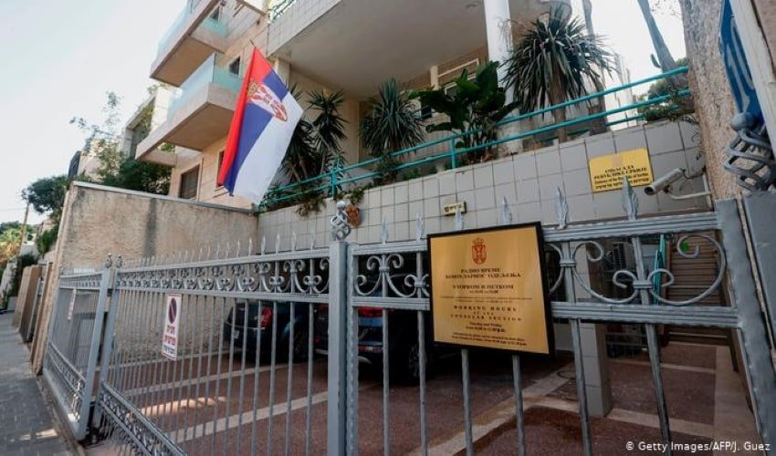 Kosovo, Serbia, Embassies in Jerusalem, Israel, US, European Union