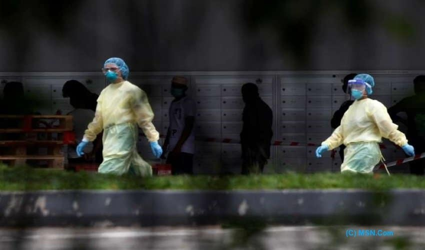 Singapore, migrant worker, Covid-19, dengue