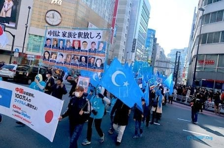 Japan Uighurs Association demands an explanation from companies practicing forced labor in Xinjiang