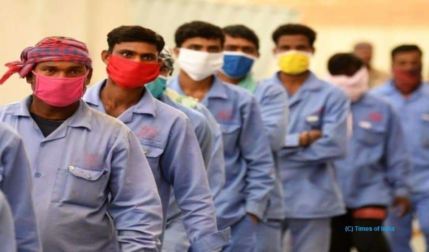 Foreign migrant workers, pandemic, remittance, Middle East nations
