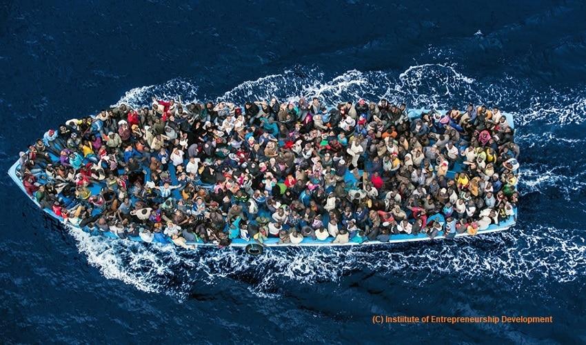 Asylum seekers, European Union, civil war