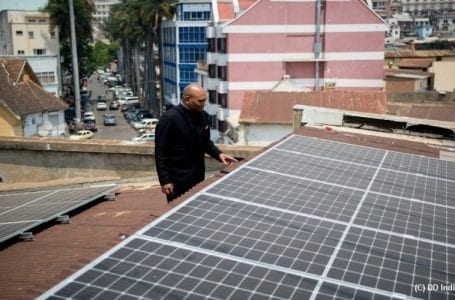 Marking the Gandhi Jayanti Indian Embassy in Madagascar goes solar