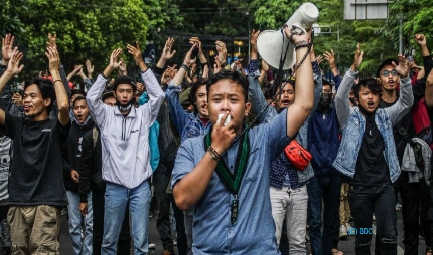 Indonesia, labour bill, labour rights