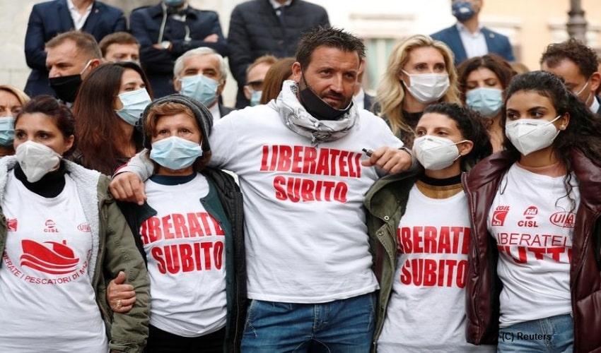 Italian fishermen, Libya, Mazara del Vallo, human trafficking, Tripoli, Sicilian fishermen