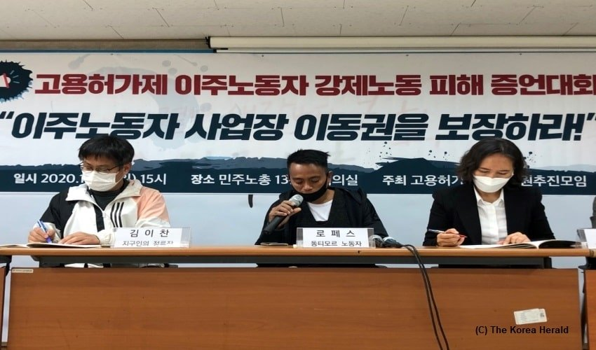 Korea, Migrant workers, modern-day slavery, National Human Rights Commission of Korea, Seoul
