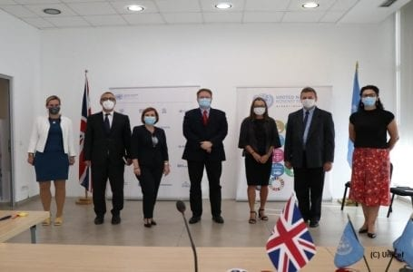 COVID-19: British Embassy partners with UN to strengthen Kosovo's healthcare, education sector
