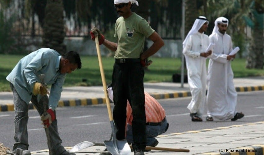 Kuwait-new-law-to-trim-foreign-workers