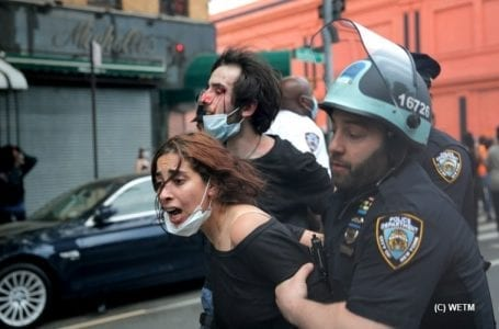 NYPD sued for alleged police brutality during Floyd protests